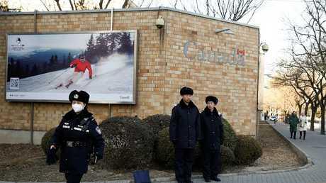 سفارة كندا في بكين، 12 ديسمبر 2018