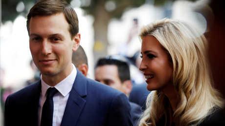 جارد كوشنير وزوجته إيفانكا ترامب