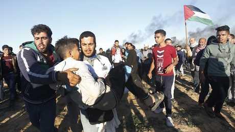 احتجاجات في قطاع غزة يوم الجمعة 14 ديسمبر 2018