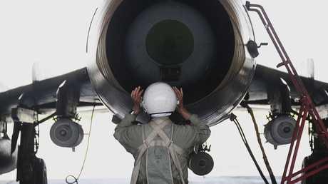 مقاتلة تابعة لسلاح الجو السوري