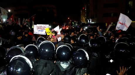 مظاهرة في عمال - 13 ديسمبر 2018