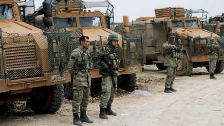 وحدات من القوات التركية شمال سوريا