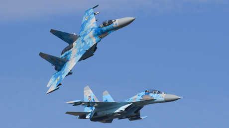 مقاتلات سو-27 الأوكرانية