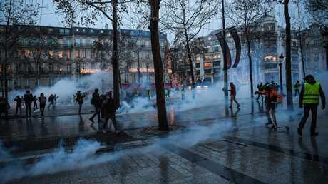 احتجاجات في باريس