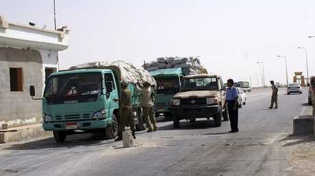 منفذ إمساعد الليبي - أرشيف -