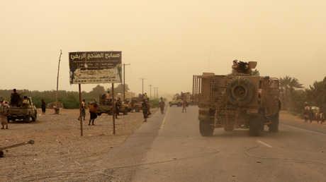 قوات للتحالف العربي في محيط الحديدة
