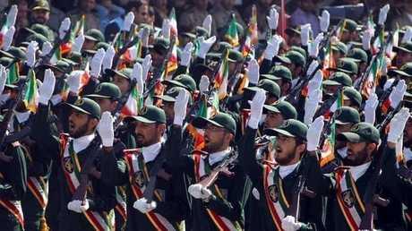 أفراد من قوات الحرس الثوري الإيراني
