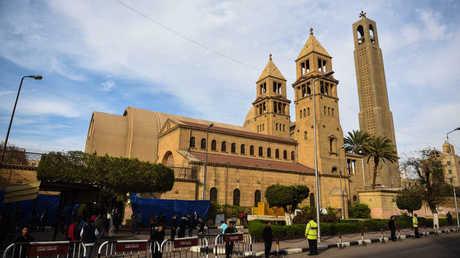 كنيسة أرثوذكسية ي مصر - أرشيف -
