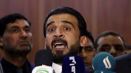 محمد الحلبوسي رئيس مجلس النواب العراقي