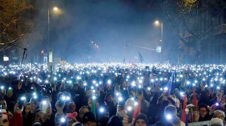 تظاهرة جديدة مناهضة لأوربان في بودابست