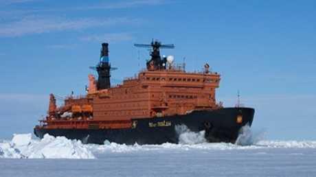 أكبر كاسحة جليد ذرية في العالم من إنتاج روسيا
