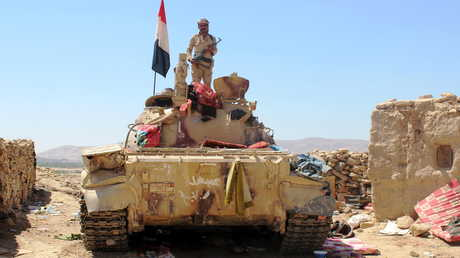 قوات موالية للحكومة اليمنية المعترف بها دوليا - صورة أرشيفية