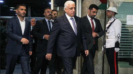 فالح الفياض يصل مجلس النواب العراقي