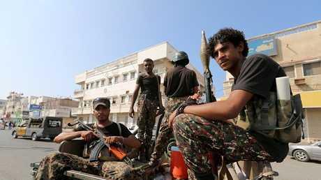 مسلحون حوثيون، الحديدة، اليمن في 10 ديسمبر 2018