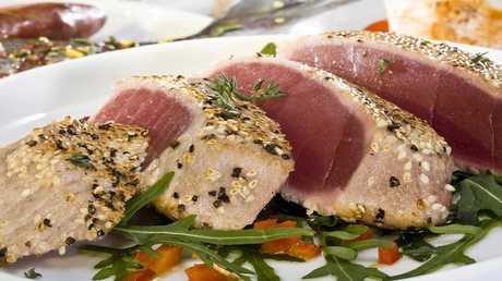 لحم سمك التونة