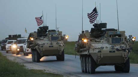 قوات أمريكية في سوريا - صورة من الأرشيف -