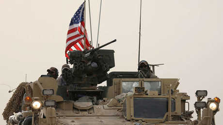 Elements of the US forces north of Syria
