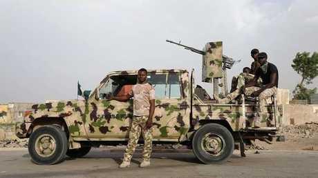 مجموعة من الجيش النيجيري- ارشيف
