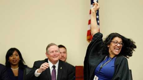 عضو الكونغرس الأمريكي من أصل فلسطيني رشيدة طليب