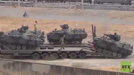 تعزيزات عسكرية جديدة تركية إلى سوريا