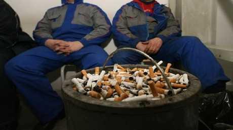 اقتراح مفهوم جديد لمنع التدخين في روسيا