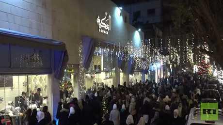 أجواء الاحتفال بالأعياد في دمشق