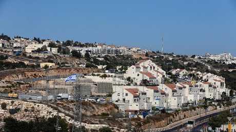 وحدات استيطانية إسرائيلية في الضفة الغربية (صورة من الأرشيف)