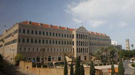 قصر الحكومة في بيروت، لبنان، 8 نوفمبر 2017