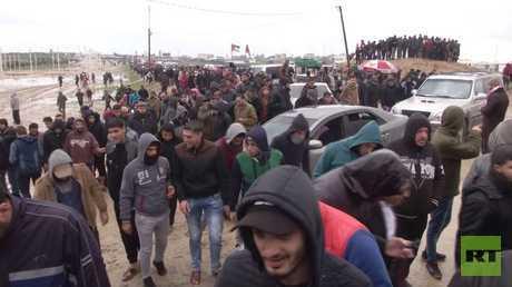 مقتل فلسطيني برصاص إسرائيلي بقطاع غزة خلال مسيرات العودة