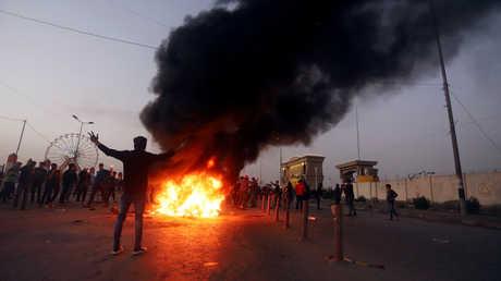 احتجاجات جماهيرية في البصرة، 21 ديسمبر 2018