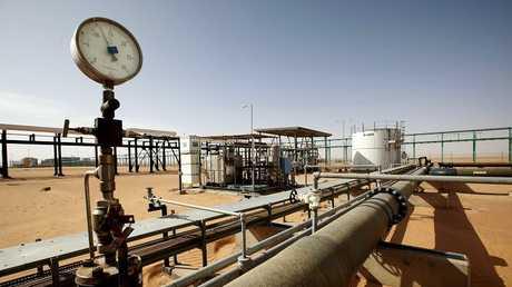 حقل نفط في ليبيا - أرشيف -