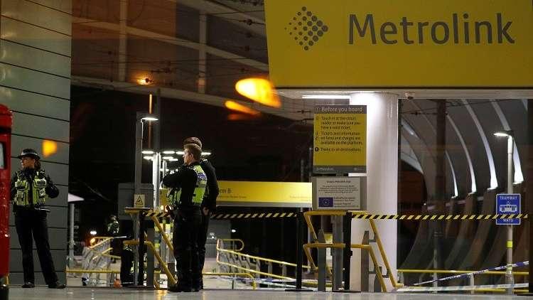 فيديو.. منفذ عملية الطعن في مانشستر البريطانية يصرخ