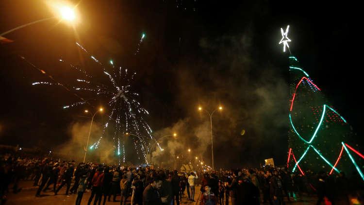 وفاة شخص وجرح 77 مدنياً باحتفالات رأس السنة بينهم طفلة في العراق