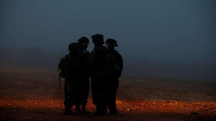 عناصر للجيش الإسرائيلي عند حدود لبنان