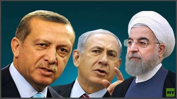 تقرير مصري بشأن تركيا وإسرائيل وإيران