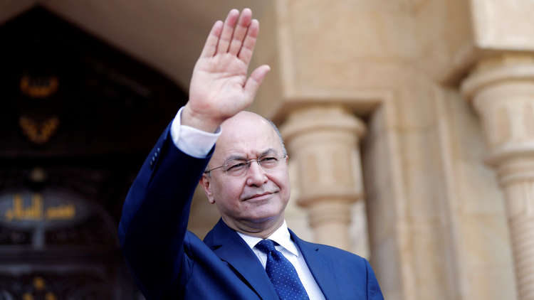 Iraqi president to visit Turkey on Thursday
