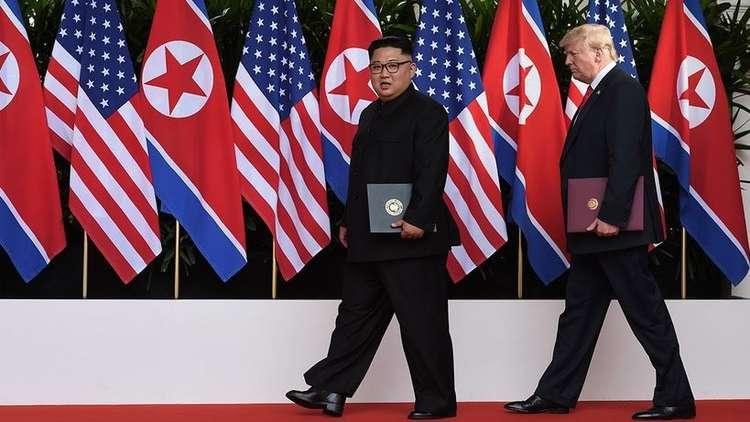 ترامب يتوقع لقاء كيم قريبا