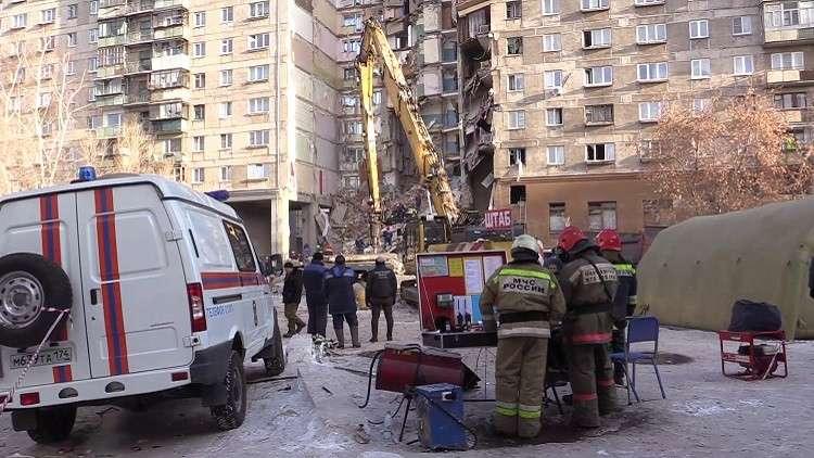 الطوارئ الروسية: ارتفاع عدد ضحايا ماغنيتوغورسك إلى 39