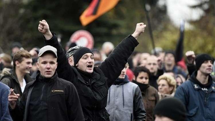 اليمين المتشدد يسير دوريات أمنية في مدينة ألمانية!