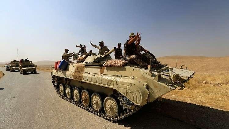 دبابات تابعة للجيش العراقي - أرشيف