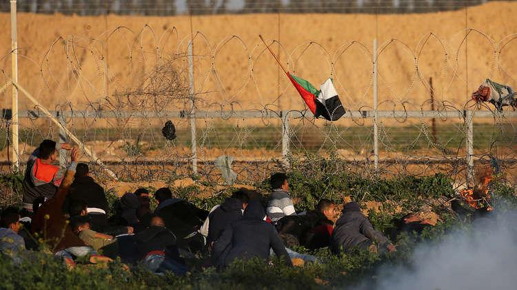 إصابة 6 فلسطينيين برصاص إسرائيلي شرقي قطاع غزة