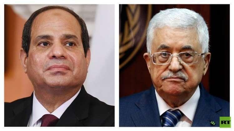 عباس يصل القاهرة في زيارة رسمية