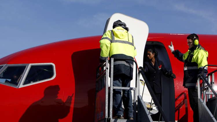 طائرة نرويجية عالقة في إيران بسبب العقوبات الأمريكية
