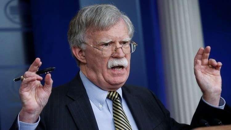 بولتون يبحث مع الأتراك سبل إدارتهم للأراضي السورية