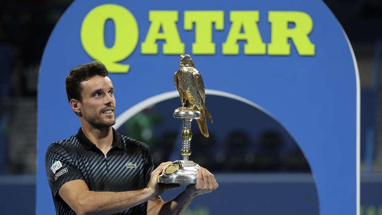 باوتيستا يحرز لقب بطولة قطر المفتوحة