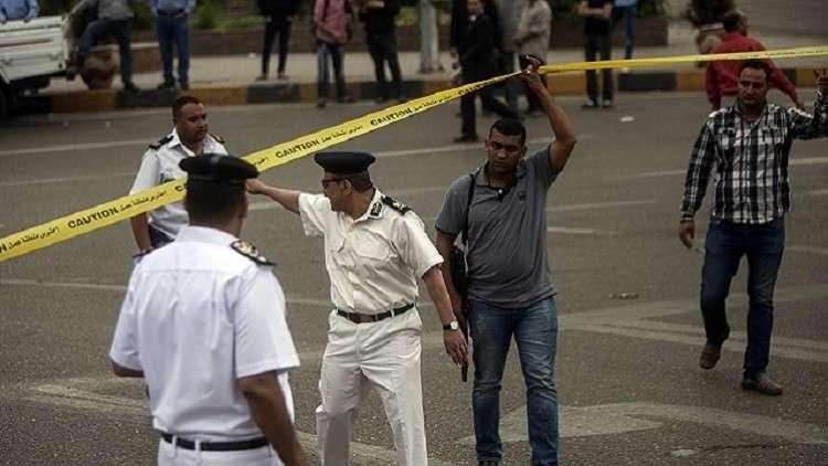 مقتل ضابط شرطة بتفجير قرب كنيسة في مدينة نصر (صور)