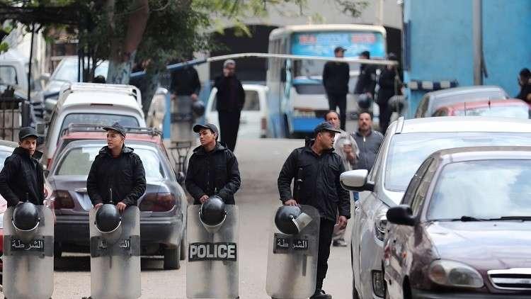 قوات الأمن المصري