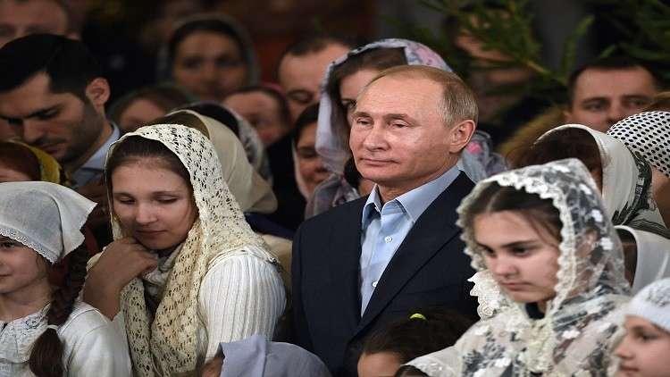بوتين يهنئ المسيحيين الأرثوذكس بعيد الميلاد
