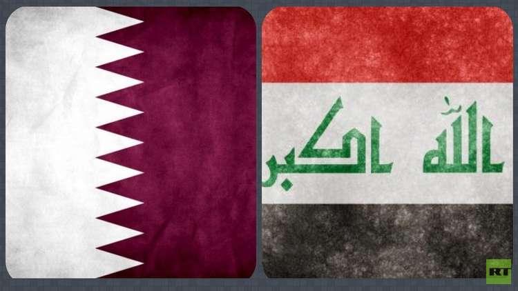 بالصور والفيديو.. الدوحة تتزين بالأعلام العراقية