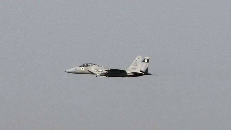 حادث خطير لمقاتلة إسرائيلية من طراز F15
